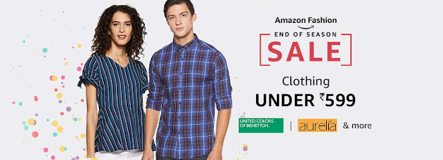 Amazon Fashion End Of Season Sale