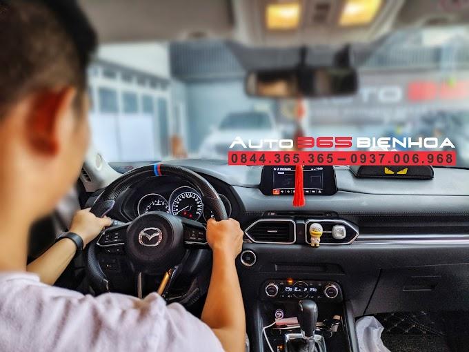 Vô lăng Carbon dùng cho các dòng xe Mazda