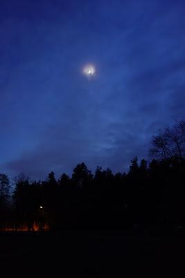 Księżyc nad polaną w Truskawiu