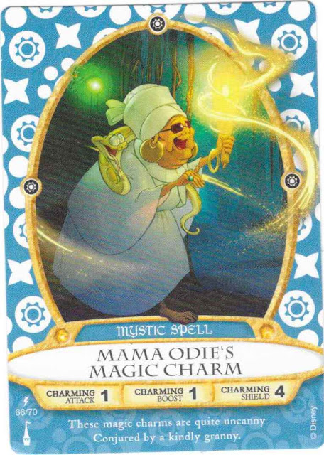 Mama Odie's Magic Charm Spell Card 66/70 Sorcerers of the Magic Kingdom