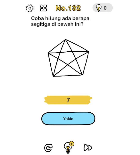 Coba hitung ada berapa segitiga dibawah ini?