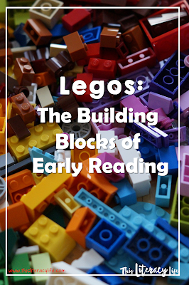 Teaching important early reading skills is one way playing with Legos can help your child with early reading skills!