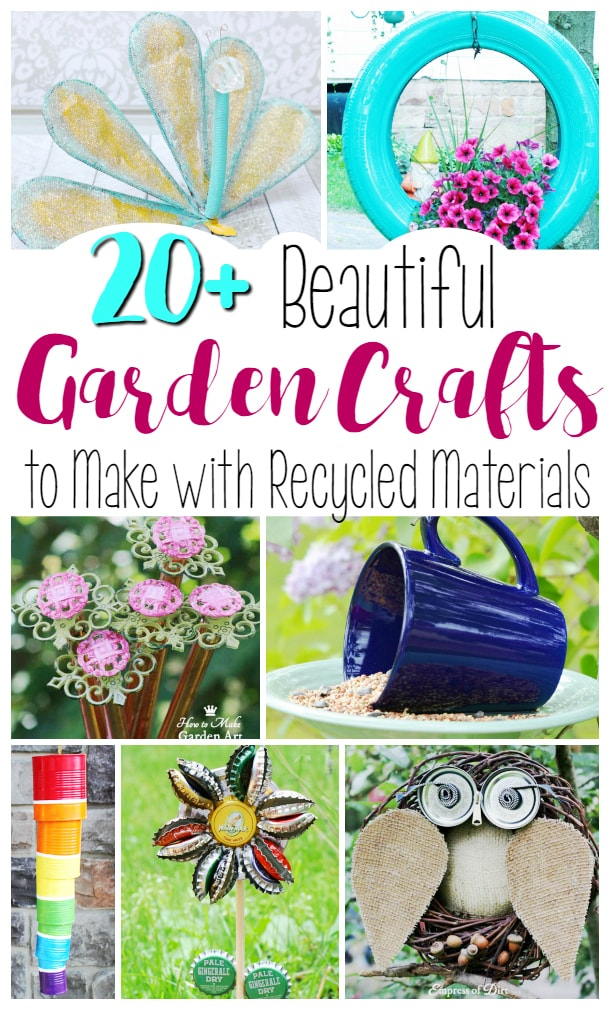#upcycledgardencraft #creativegreenliving #springcraft