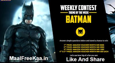 batman contest