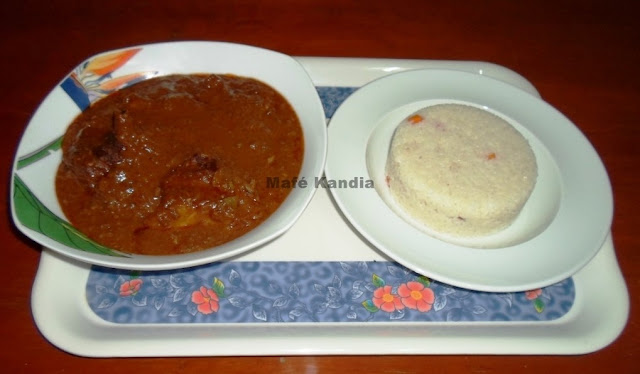 Cuisine, mafé, riz, sauce, arachide, poulet, viande, gombos, recette, plat, repas,  LEUKSENEGAL, Dakar, Sénégal, Afrique