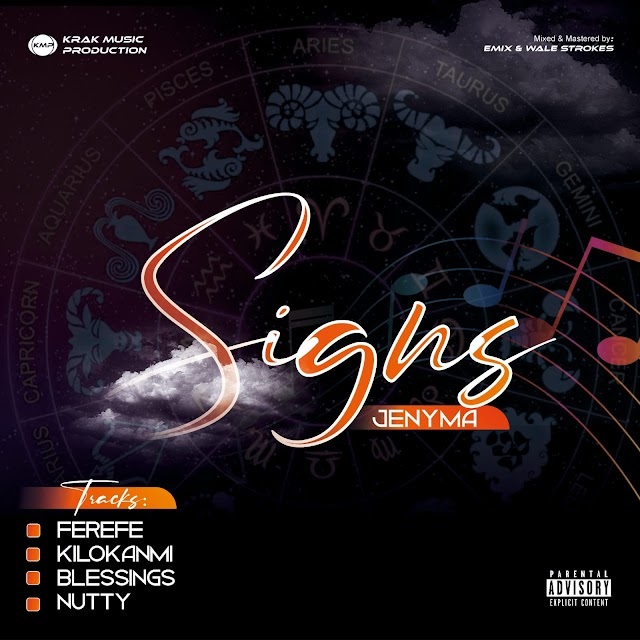 EP Download: Jenyma - Signs the EP