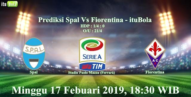 Prediksi Spal Vs Fiorentina - ituBola