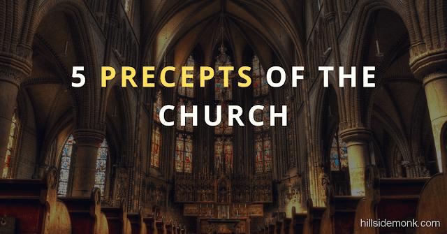 5 Precepts Of The Church
