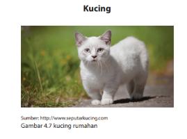 Struktur Teks Hasil Observasi tentang kucing, Bahasa Indonesia kelas 7 halaman 142-144