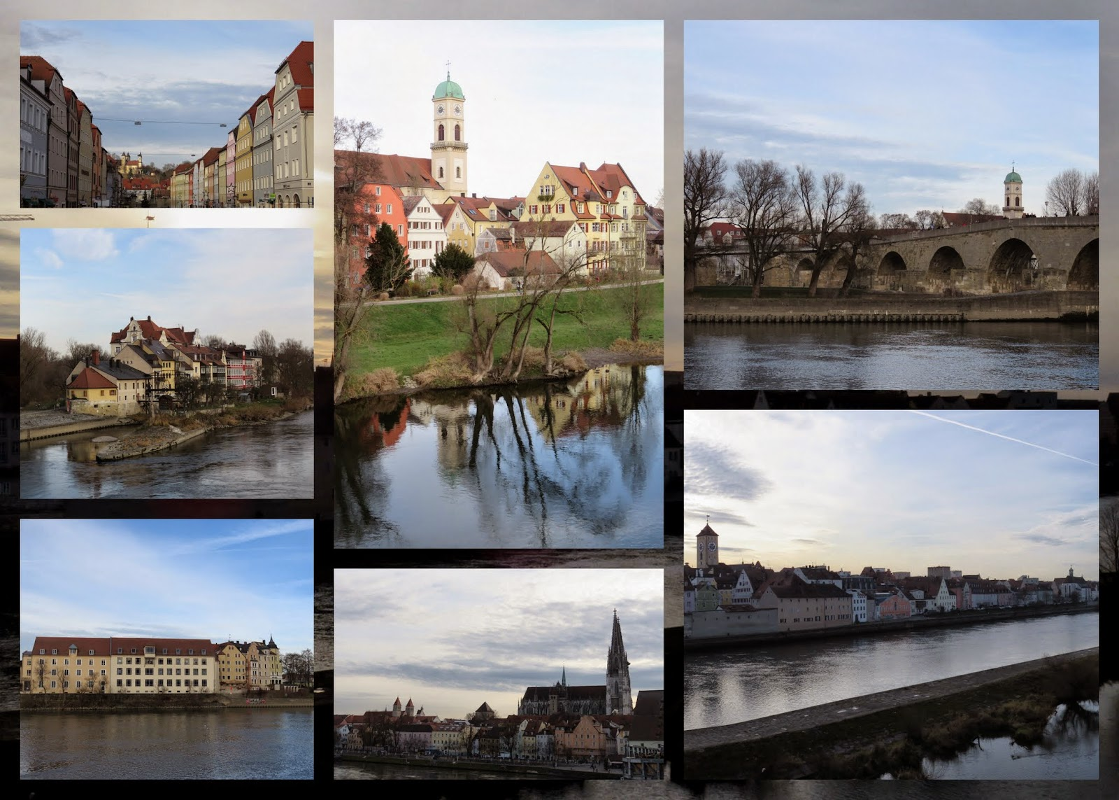 Regensburg - On the Danube
