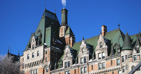 Chateau Frontenac Quebec City Hotel