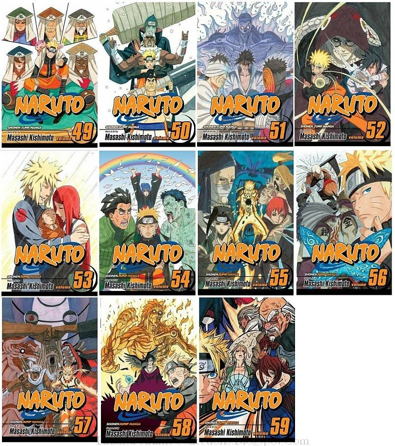 Anime Manga Covers: Khairul's Anime Collections: Naruto Anime Wallpaper