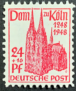 Germany  British US Zone 1948 Cologne Cathedral