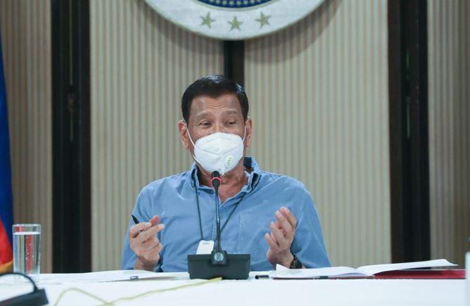 Duterte addresses the nation April 13 on COVID-19 crisis
