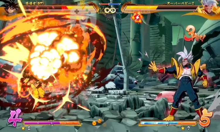 تحميل لعبة Dragon Ball FighterZ للكمبيوتر بحجم صغير