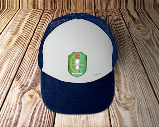 desain topi lambang logo provinsi kalimantan barat - kanalmu