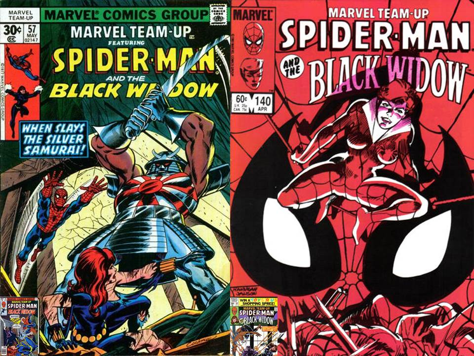 Dave S Comic Heroes Blog Spider Man Teams With The Black Widow