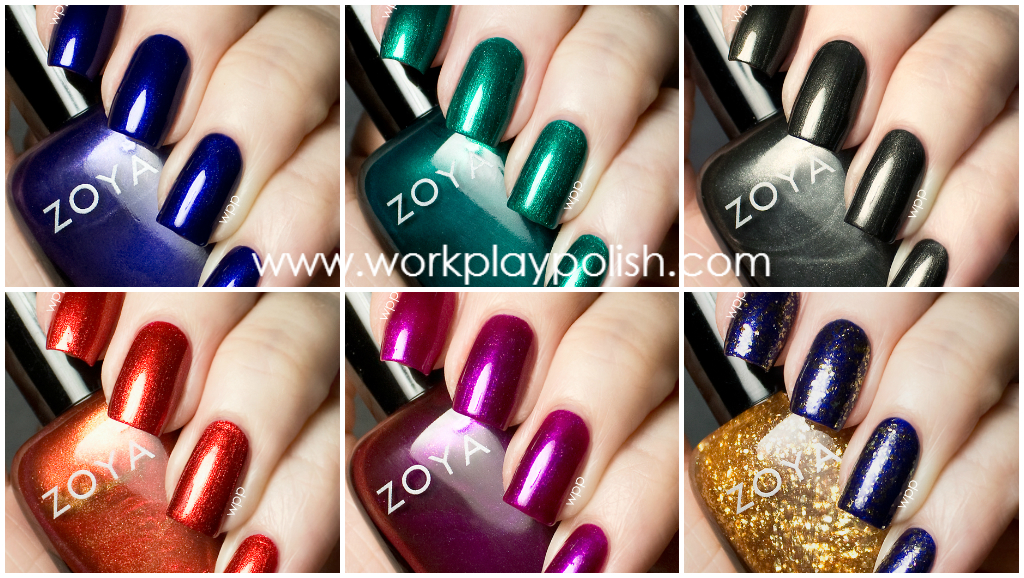 Zoya Satins Collection (Fall 2013)