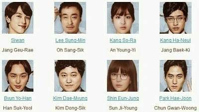 Pelakon drama korea Misaeng