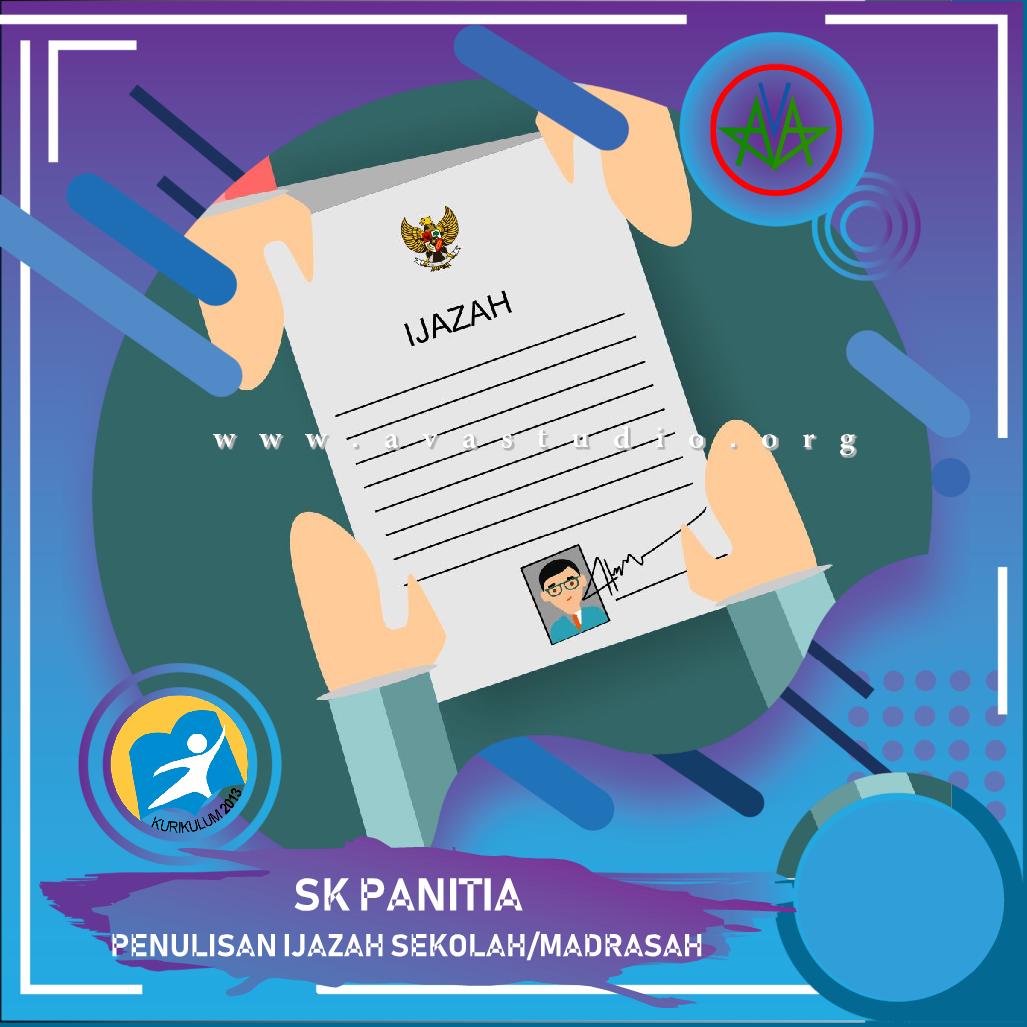 [Docx] SK Panitia Penulisan Ijazah Sekolah/Madrasah Tahun Pelajaran 2020/2021
