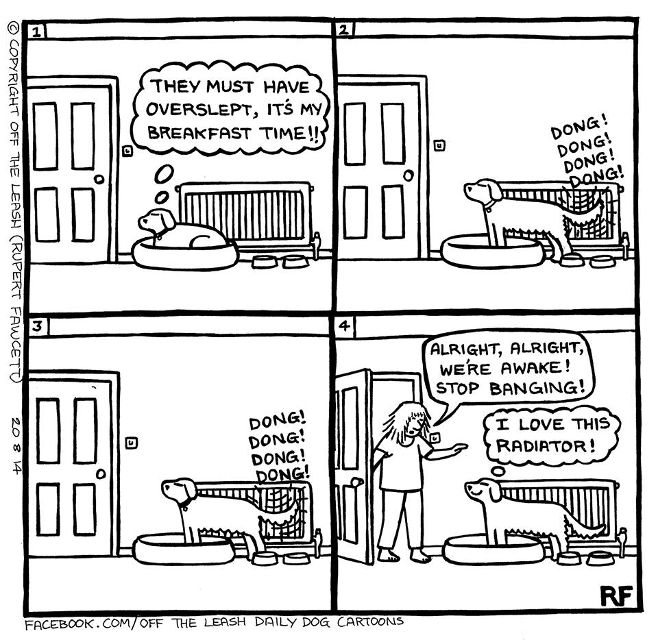 Mystery Fanfare: Cartoon of the Day: Dogs