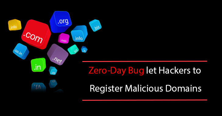 Zero-Day Bug in Verisign & IaaS Services Such as Google, Amazon let Hackers to Register Malicious Domains