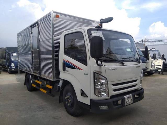 Xe tải 3.5 tấn Đô Thành IZ65 thùng kín