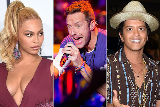 Super Bowl 50 com Coldplay, Beyoncé e Bruno Mars