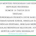 Juknis PPDB TK,SD,SMP,SMA,SMK - Permendikbud No.14 Tahun 2018