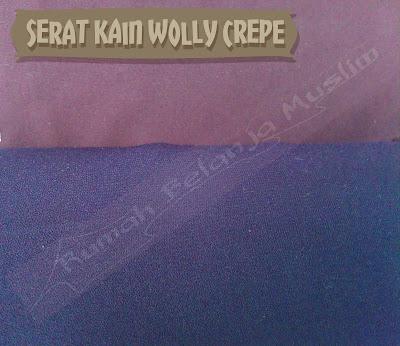 Serat Kain Wolly Crepe