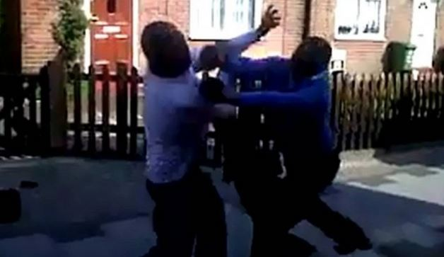 Married Men Cheating With Each Other's Wives Allegedly Fight Outside Mosque