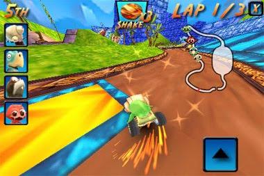 Cocoto-kart-racing Cocoto Racer - um Mario Kart Grátis para iPhone
