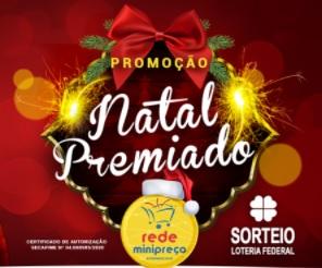 Cadastrar Promoção Natal 2020 Rede Minipreço - Natal Premiado 5 Motos 0KM