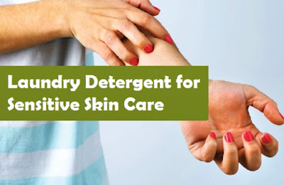Laundry Detergent for Sensitive Skin Care