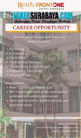 Career Opportunity at New Front One Hotel Surabaya August 2020