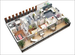 xây dựng mô hình nhà ở Vinhomes Nguyễn Trãi