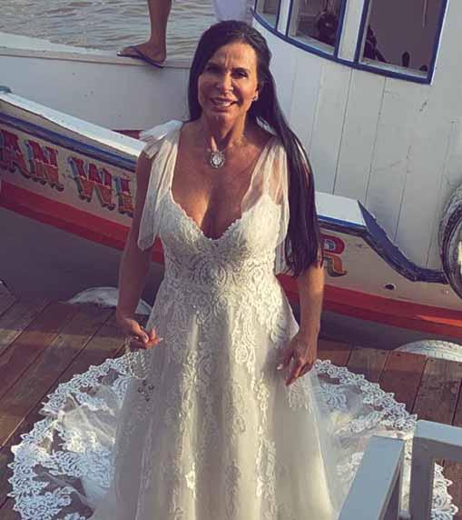 Gretchen em casamento no belem do para