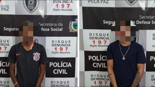 Acusados de tráfico de drogas e roubos são presos na cidade de Patos