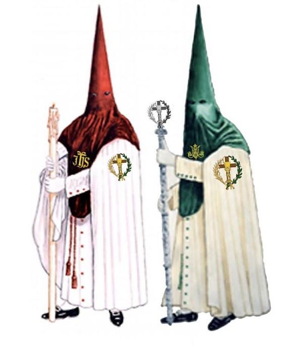 Así serán los nuevos hábitos nazarenos de la Hermandad de la Oración en el Huerto de Cádiz