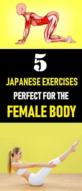 5 Japanese Exercises Perfect For The Female Body