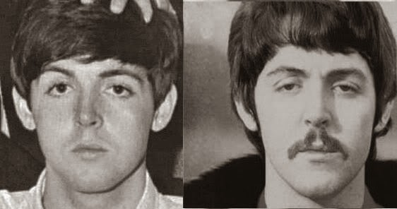 Some Comparisons Seem More Similar But In General There Is Often The Kind Of Facial Structure Difference Seen Here Between Paul McCartney Before Late 1966