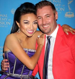 Freddy Harteis with his ex-wife Jeannie Mai