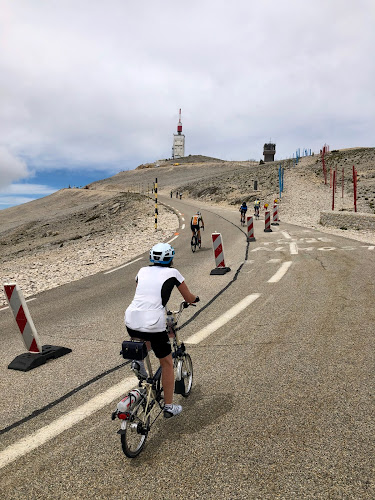 French Village Diaries cycling up Mont Ventoux