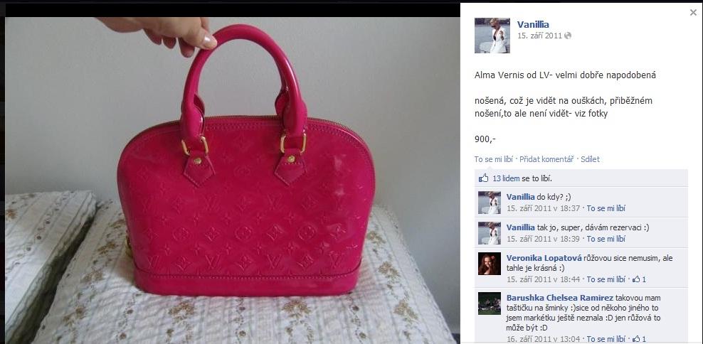 Anebo rovnou velmi dobře napodobenou kabelku  A ještě použitou  padělkomaniačkou  To se taky vyplatí. Mimochodem b8338cffd2d
