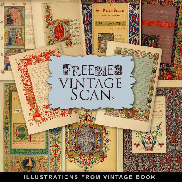 Freebies Vintage Book Illustrations Hill - Free