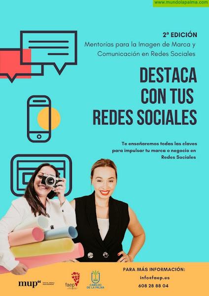 FAEP lanza la II edición  del proyecto 'Mentorías; Destaca en tus redes sociales', eje del plan de gestión y marketing  para las empresas palmeras