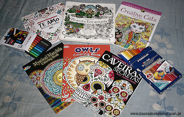 Livros de colorir coleção