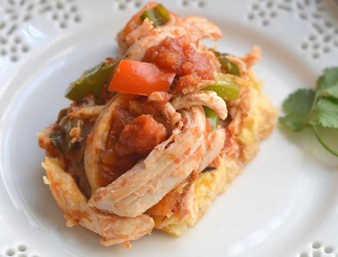 Pollo con coliflor a la Cacerola