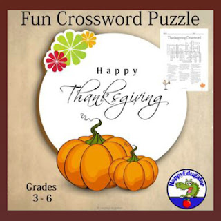 https://www.teacherspayteachers.com/Product/Thanksgiving-Crossword-Puzzle-with-Word-Bank-Fun-Facts-5043162