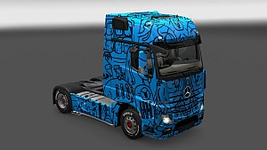 Alien Mask B Skin Pack for All Trucks